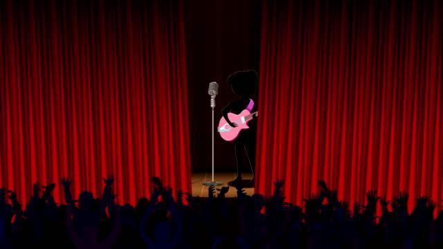 vídeos de stock, filmes e b-roll de noites musicais - arte, cultura e espetáculo