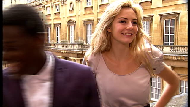 romeo and juliet musical rehearsals and photocall tamsin egerton and daniel kaluuya interview sot - daniel kaluuya stock videos and b-roll footage