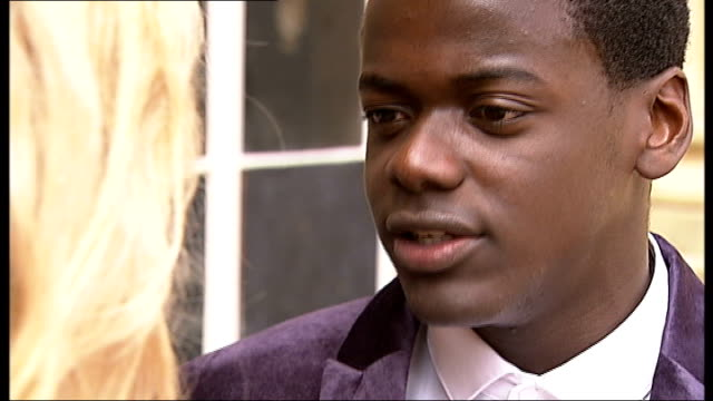 romeo and juliet musical rehearsals and photocall various shots of tamsin egerton and daniel kaluuya rehearsing balcony scene from romeo and juliet... - daniel kaluuya stock videos and b-roll footage