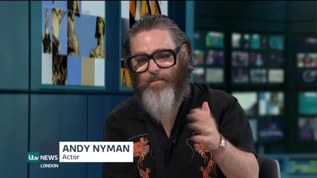 'fiddler on the roof' returns to london's west end; england: london: gir: int andy nyman live studio interview sot. - re 'fiddler on the roof' west... - revival stock videos & royalty-free footage