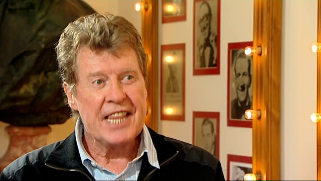 the wizard of oz: michael crawford interview; england: london: london palladium: int michael crawford interview sot - six years since been on west... - michael crawford stock videos & royalty-free footage