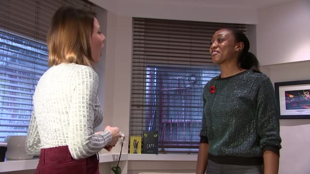 Beverley Knight prepares for role in Cats Beverley Knight interview SOT