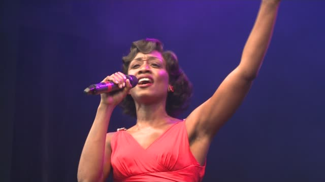 Beverley Knight prepares for role in Cats TX Beverley Knight performing a song from the musical Memphis SOT