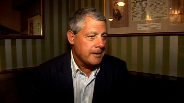 'les miserables' curtain call and interviews cameron mackintosh interview sot on so many young people turning up tonight comments on nick's and... - cameron mackintosh stock videos & royalty-free footage
