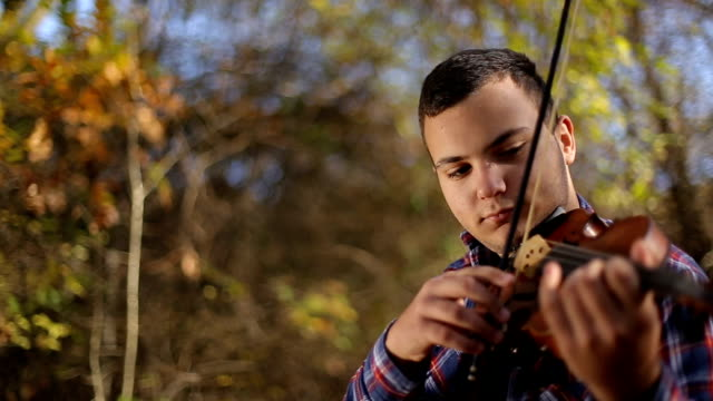 Musician Inspired By Nature