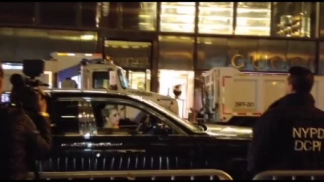 musician lady gaga sits in her car after staging a protest against republican presidential nominee donald trump outside trump tower in new york city... - eyes closed stock videos & royalty-free footage