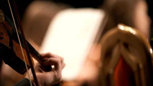muzikant spelen viool