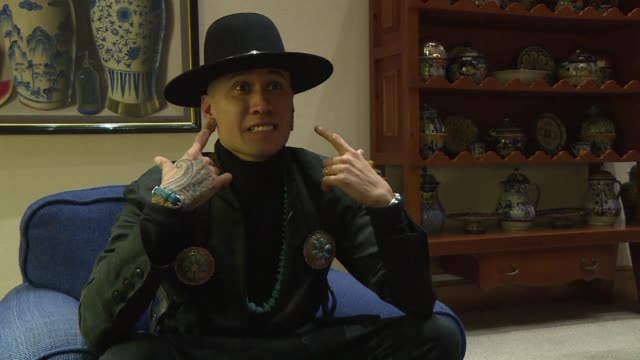 musician taboo from black eyed peas talks about his fight against cancer ahead of the world summit against the disease - the black eyed peas band stock videos and b-roll footage