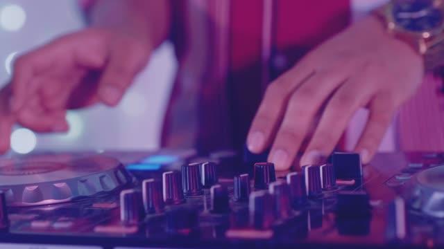 musician - club dj stock videos & royalty-free footage