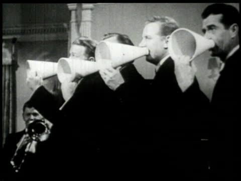 1926 montage musicians and dancers  - 1926 bildbanksvideor och videomaterial från bakom kulisserna