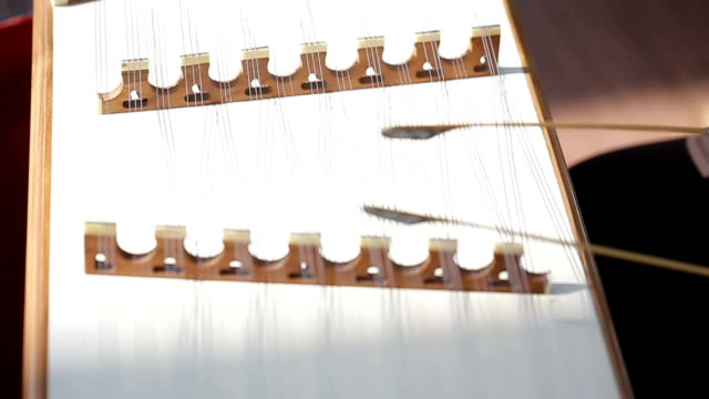 musicians are playing the wood dulcimer. - shaking stock videos & royalty-free footage