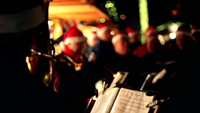 Musicians at the Christmas Market