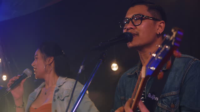 vidéos et rushes de musiciens en concert - singer