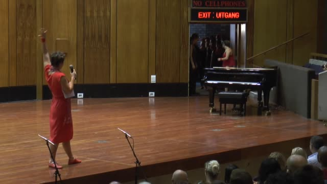musicians perform at the linder auditorium during the last day of johannesburg international mozart festival in johannesburg south africa on february... - schlußtag stock-videos und b-roll-filmmaterial