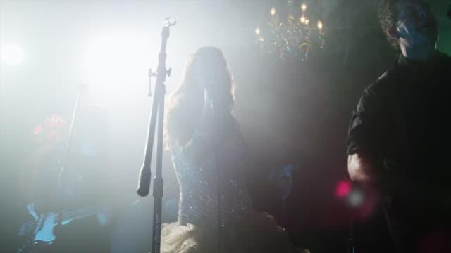 MS LA PAN Musicians performing on stage / Provo, Utah, USA