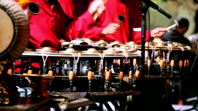 musicians play thai style music - music style stock videos and b-roll footage