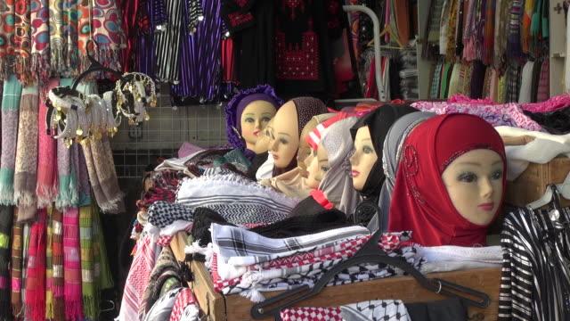 muslim clothes - jerusalem stock-videos und b-roll-filmmaterial