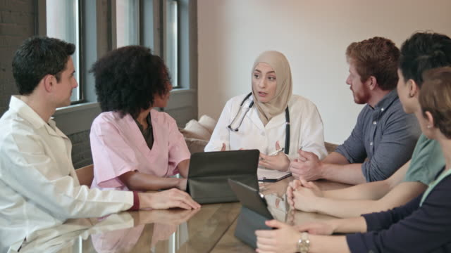 Muslim Female Doctor Leads Multi-Ethnic Medical Team WS