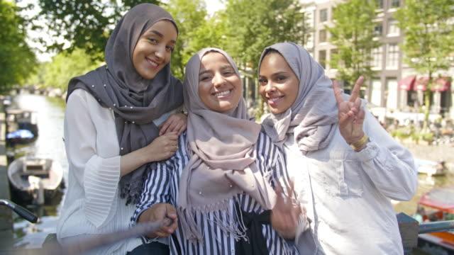 Muslim immigrant girls