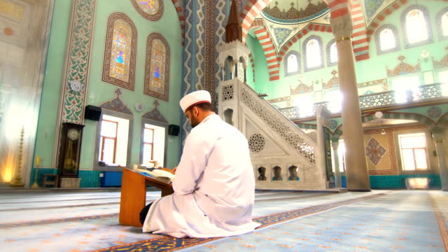 muslim man prays - jerusalem stock videos & royalty-free footage
