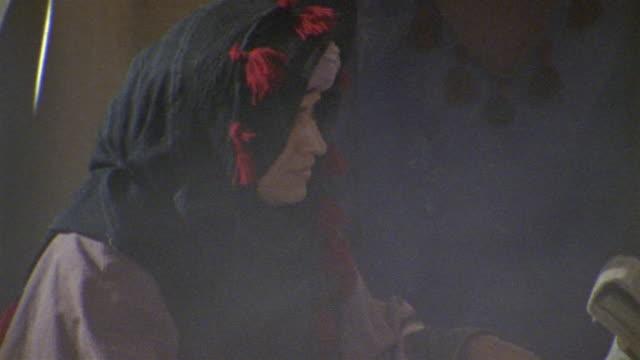 CU, PAN, Muslim women studying Koran, Iran