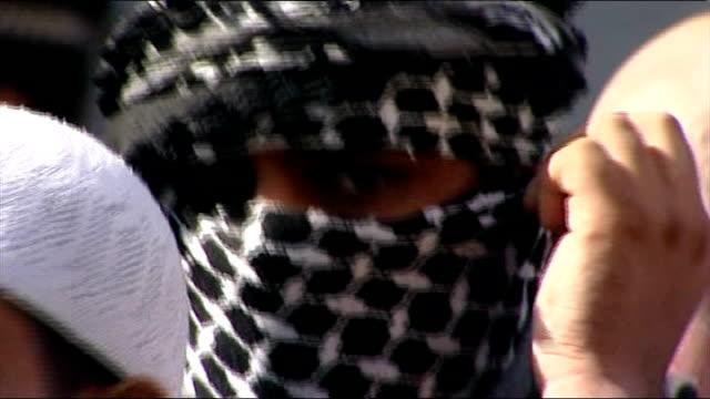 'Muslims Against Crusades' group banned 1192011 R11091102 Muslim extremists 'Muslims Against Crusades' protesting and chanting