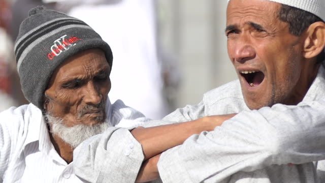 muslims hajj pilgrimage, mecca saudi arabia. - al haram mosque stock videos and b-roll footage