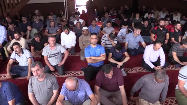 muslims in australia held funeral prayers on friday in absentia for those killed in last week's christchurch terrorist attack in new zealand during... - islam stock videos & royalty-free footage