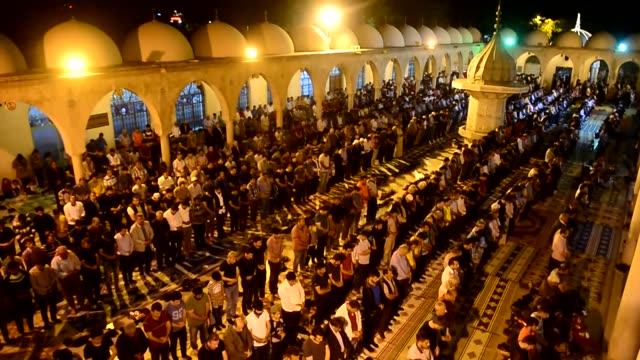 Muslims observe the ShabeBarat also known as Mid Sha'ban Or Lailatul Baratin Sanliurfa Turkey on May 10 2017 Muslims around the world celebrate the...