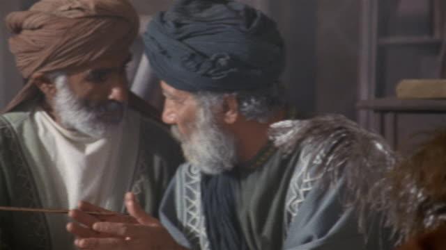 cu, pan, muslims studying koran, iran  - koran stock videos & royalty-free footage