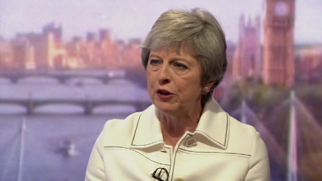 must obtain permission from the andrew marr show before licensing theresa may speaking on the andrew marr show says she recognises that there are... - andrew marr stock videos & royalty-free footage