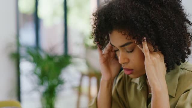 my brain feels fried - headache stock videos & royalty-free footage