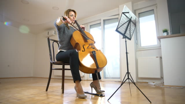 my favorite time of the day - cellist stock videos & royalty-free footage