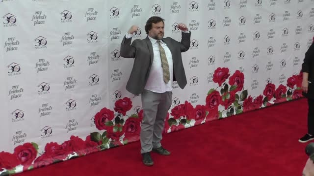 clean my friend's place 30th anniversary gala at hollywood palladium on april 07 2018 in los angeles california - jack black stock videos & royalty-free footage