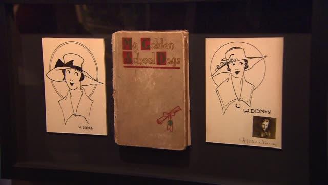 'My Golden School Days' Benton School Graduation book from 1917 and original drawings by Walt Disney Yearbook and Original Drawings From Walt Disney...