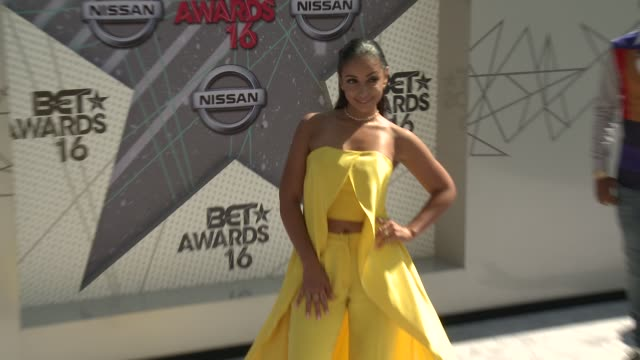 Mya at 2016 BET Awards in Los Angeles CA