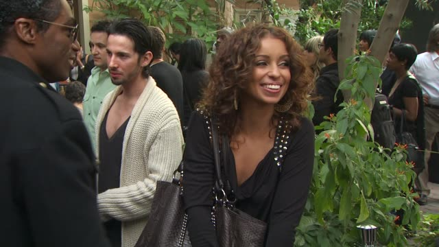 mya at the we are the world 25th anniversary recording for haitian earthquake relief at los angeles ca. - 歌手 マイア点の映像素材/bロール