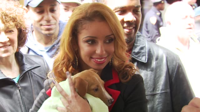 mya hosts north shore animal league's tour for life 2010 grand finale, new york, ny, united states, - 歌手 マイア点の映像素材/bロール