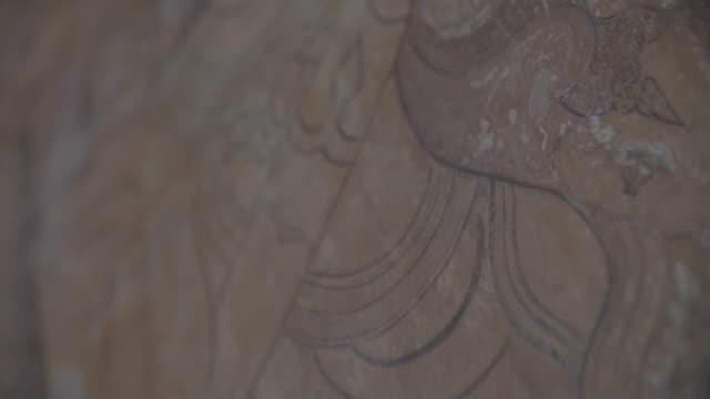 myanmar bagan - 壁画点の映像素材/bロール