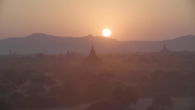 myanmar bagan - myanmar stock videos & royalty-free footage