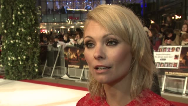 myanna buring on how she got her part, never thinking she's get the part, part 2, the film and more at the the twilight saga breaking dawn part 1 uk... - myanna buring stock videos & royalty-free footage
