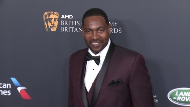 mykelti williamson at 2016 amd british academy britannia awards presented by jaguar land rover and american airlines in los angeles, ca 10/28/16 - ミケルティ ウィリアムソン点の映像素材/bロール