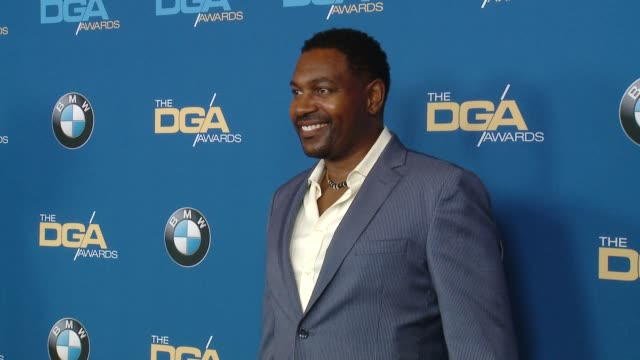 mykelti williamson at the 70th annual dga awards at the beverly hilton hotel on february 03, 2018 in beverly hills, california. - ミケルティ ウィリアムソン点の映像素材/bロール