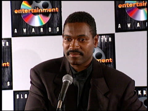 Mykelti Williamson at the Blockbuster Entertainment Awards at Pantages Theater in Hollywood California on June 3 1995
