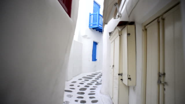 mykonos town, greece - mykonos stock videos & royalty-free footage