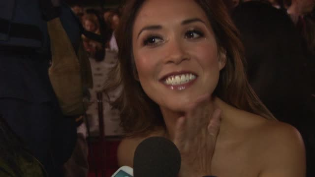 myleene klass on her recent x-factor confusion at mobo awards 2014 at wembley arena on october 22, 2014 in london, england. - wembley arena stock videos & royalty-free footage