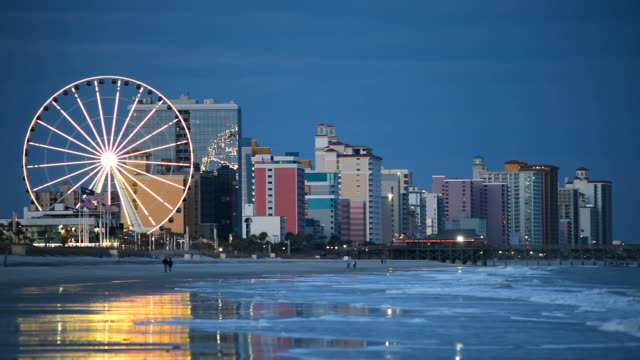 myrtle beach - south carolina stock videos & royalty-free footage