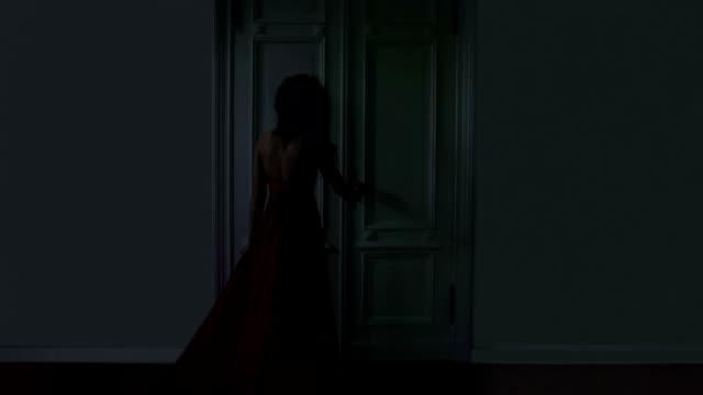 mysterious door - peeking stock videos & royalty-free footage