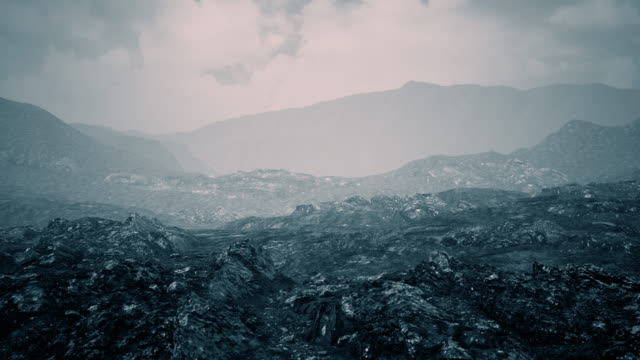 神秘的な山の風景 - 北極点の映像素材/bロール