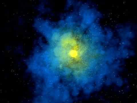 ミステリアスな星雲背景 2 hd シリーズ - https点の映像素材/bロール